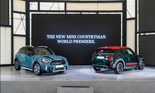 New Mini Countryman unveils world's first in Korea
